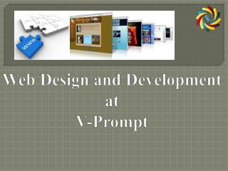 web design and development at v-prompt