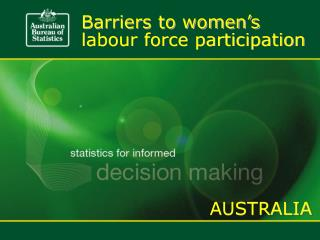 Barriers to women's
