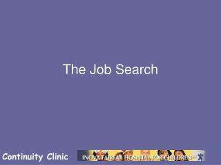 The Job Search