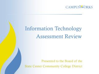 Information Technology  Assessment Review