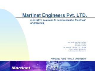 martinet engineers pvt. ltd.