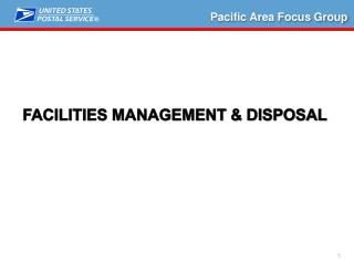 Facilities management & Disposal