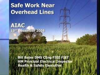 safe work near overhead lines  aiac 10th december 2008