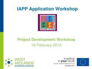 IAPP Application Workshop