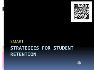 Strategies for student retention