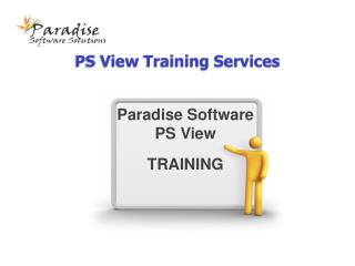 PS View Training Services