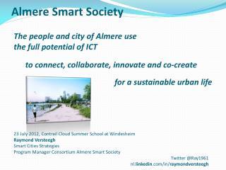 Almere Smart Society