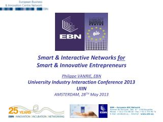 1 .  The EBN Network a community sharing values, goals & brands