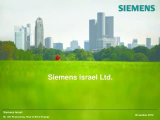 Siemens Israel Ltd .