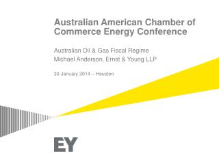 Australian American Chamber of Commerce Energy Conference