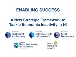 ENABLING SUCCESS  A New Strategic Framework to Tackle Economic Inactivity in NI