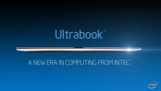 Ultrabook ™: A Brief History