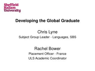 Developing the Global Graduate