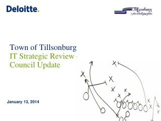 Town of Tillsonburg IT Strategic Review �Council Update