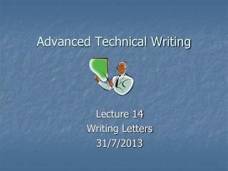 Advanced Technical Writing
