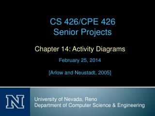 Chapter 14: Activity Diagrams