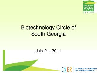 Biotechnology Circle of  South Georgia
