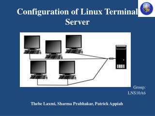 Configuration of  Linux Terminal Server