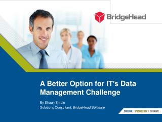 A Better Option for  IT's  Data Management Challenge