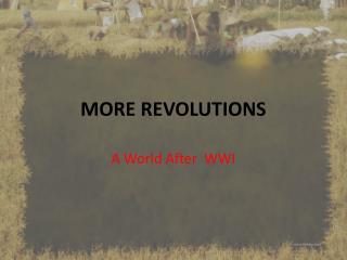 MORE REVOLUTIONS