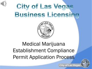 Medical Marijuana Establishment Compliance Permit Application Process