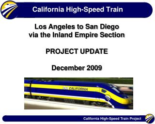 California High-Speed Train