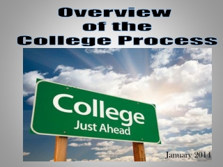 the college search process