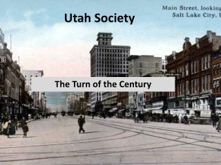 Utah Society