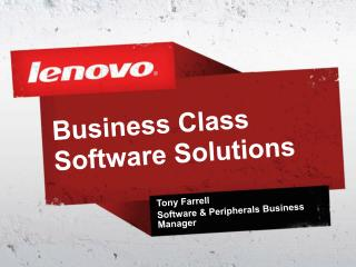 Business Class Software Solutions