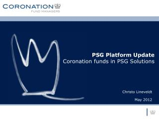 PSG Platform Update Coronation funds in PSG Solutions