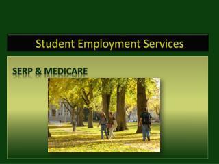 Student Employment Services