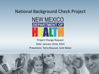 National Background Check Project
