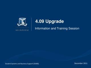 4.09 Upgrade
