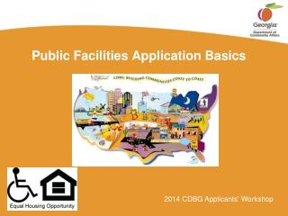 Public Facilities Application Basics