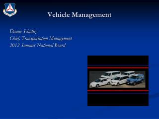 Vehicle Management