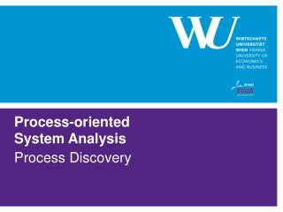 Process-oriented System Analysis