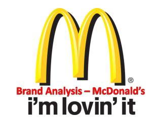 Brand Analysis – McDonald's