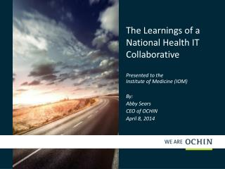 The Learnings of a National Health IT Collaborative