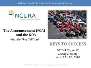 The Announcement (FOA) and the NOA What  Do They Tell  You?