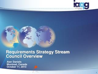 Requirements Strategy Stream Council Overview