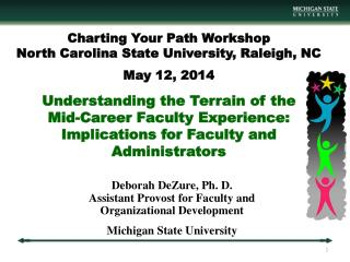 Deborah  DeZure , Ph. D. Assistant Provost for Faculty and  Organizational Development Michigan State University