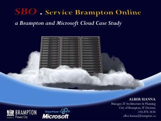 SBO  .  Service Brampton Online