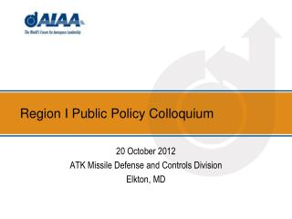 Region I Public Policy Colloquium