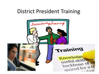 District President Training