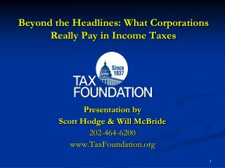 Beyond the Headlines: What Corporations Really Pay in Income Taxes