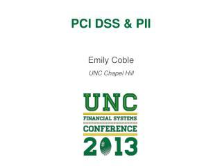 PCI DSS & PII