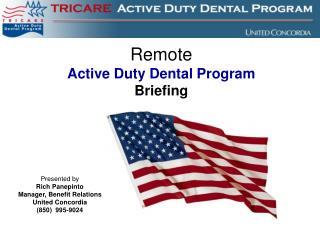 Remote ADDP Brief 2