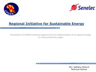 Regional  Initiative for  Sustainable Energy