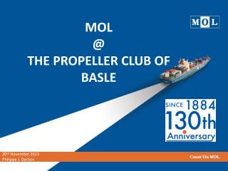 MOL  @  THE PROPELLER CLUB OF  BASLE