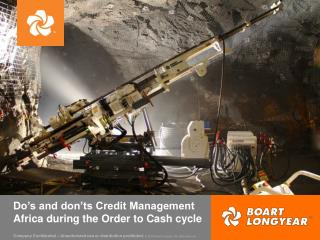 Do's and don'ts Credit Management Africa during the Order to Cash cycle